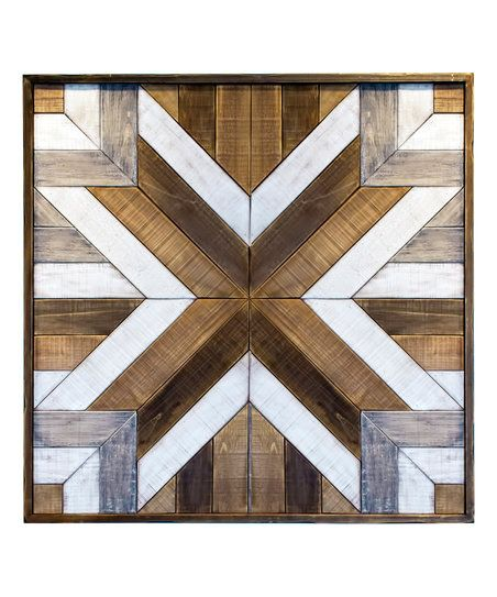 36 Wooden Quilt Wall Sign Zulily Domestic Design Rustic Quilts