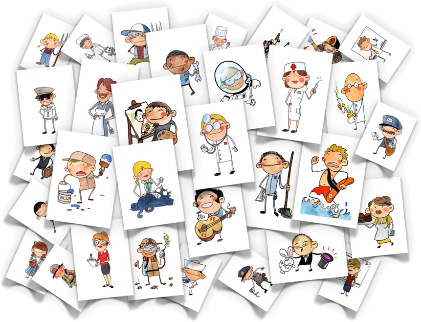 Jobs Flash Cards Flashcards Educational Flash Cards Cards