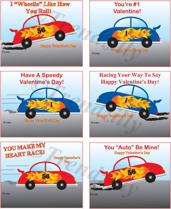37+ Printable race car valentines ideas in 2021