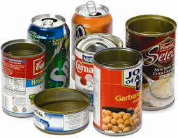 Metal Cans Please Rinse Leave Lids And Labels On Canned Food Canning Canned