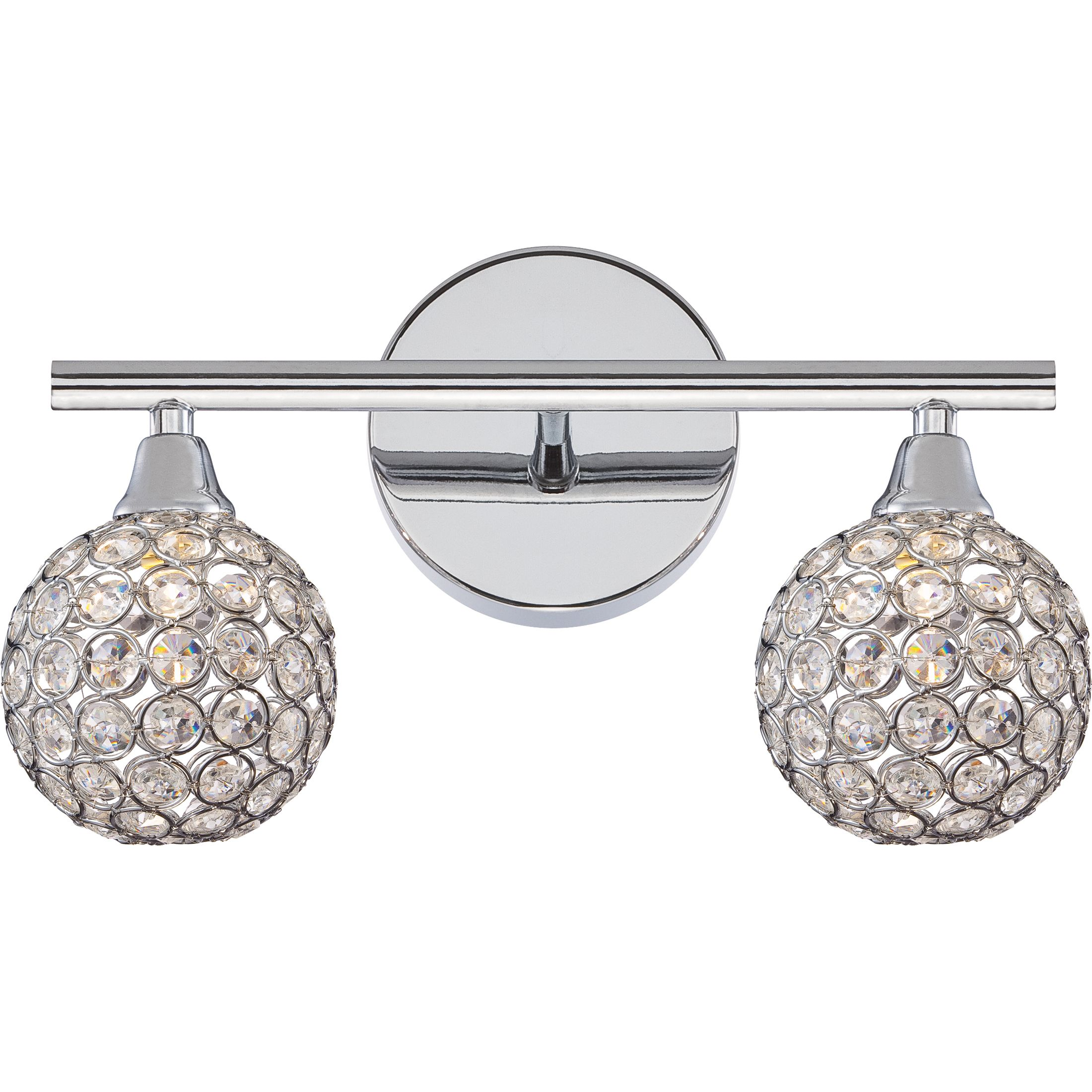 nickel modern brushed lighting trilogy vanity bathroom light quoizel quo loading fluorescent zoom