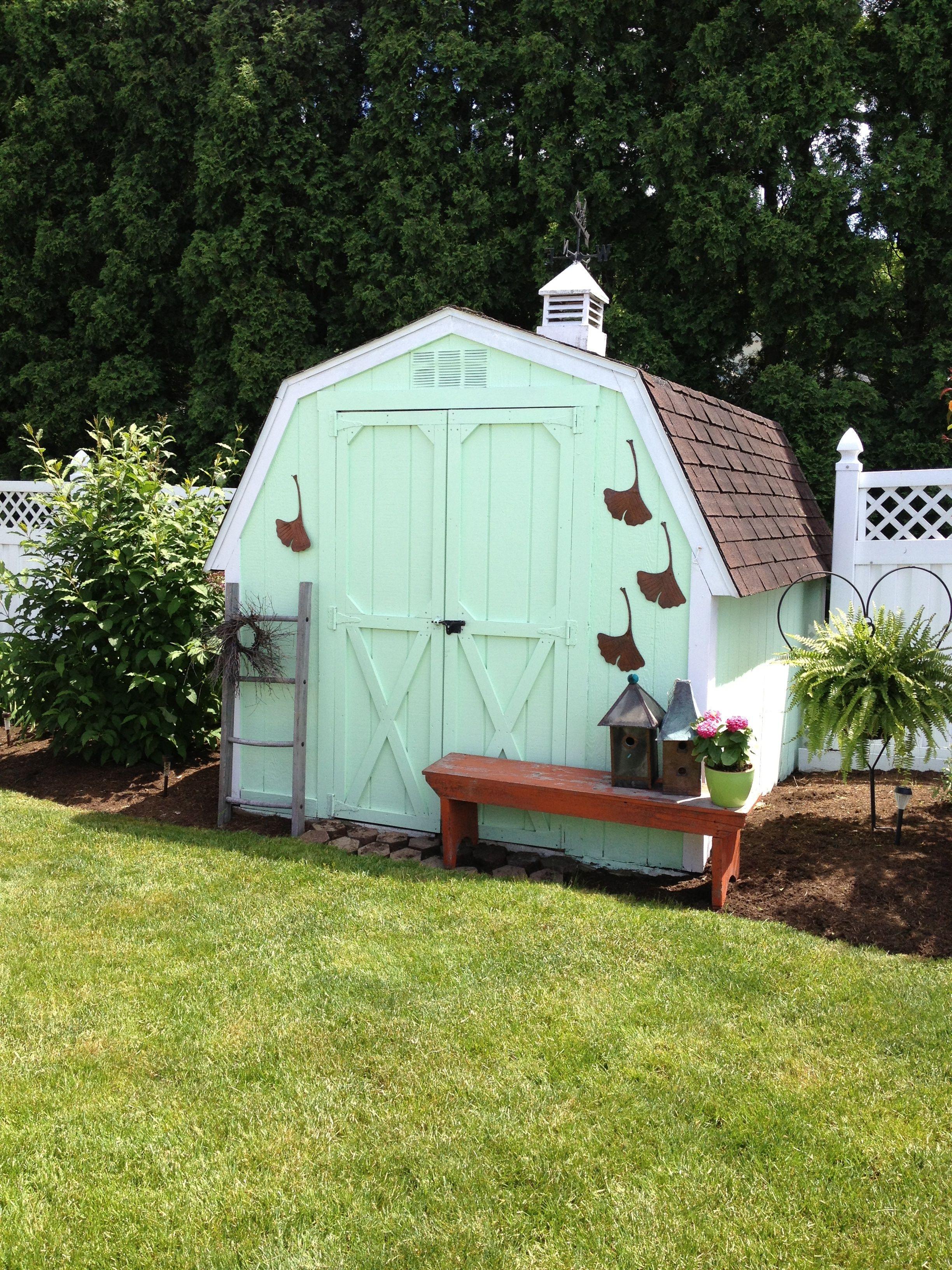 shed spruce up: inspiring ideas for garden sheds