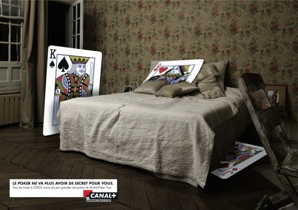 Print ad for Canal+
