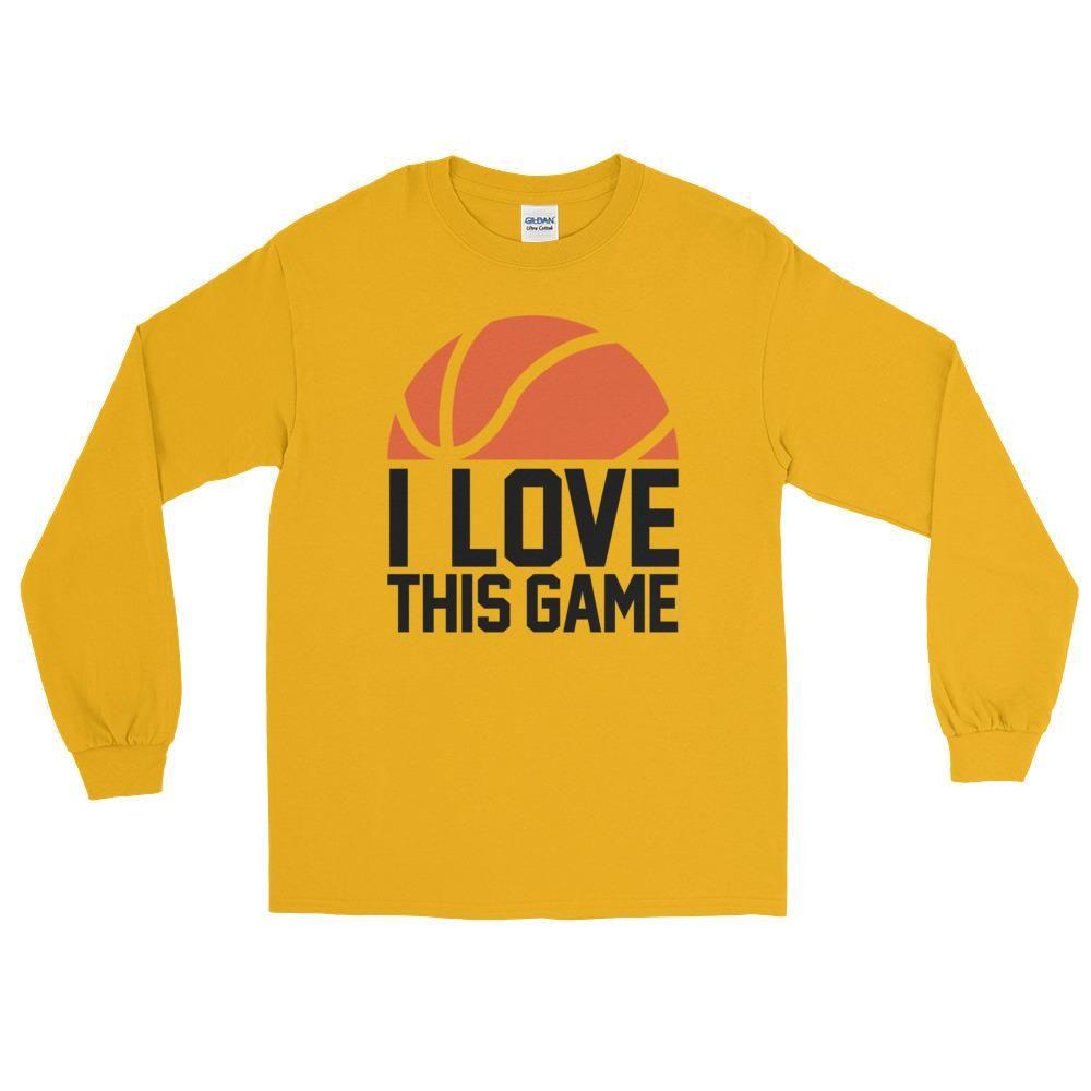 Basketball I Love This Gamel Long Sleeve T-Shirt