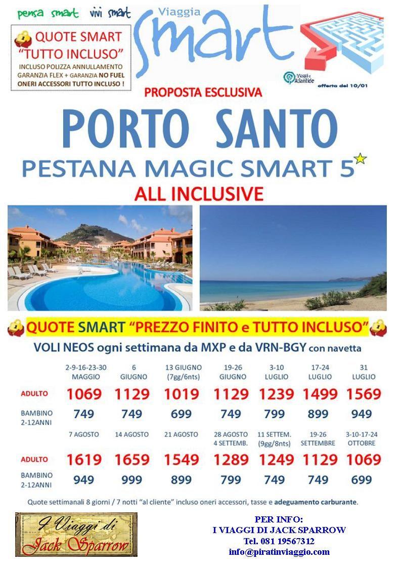 """OFFERTISSIME PER L'AFFASCINANTE ISOLA DI """"PORTO SANTO""""! Per info:  I VIAGGI DI JACK SPARROW Tel. 081 19567312 info@piratinviaggio.com"""