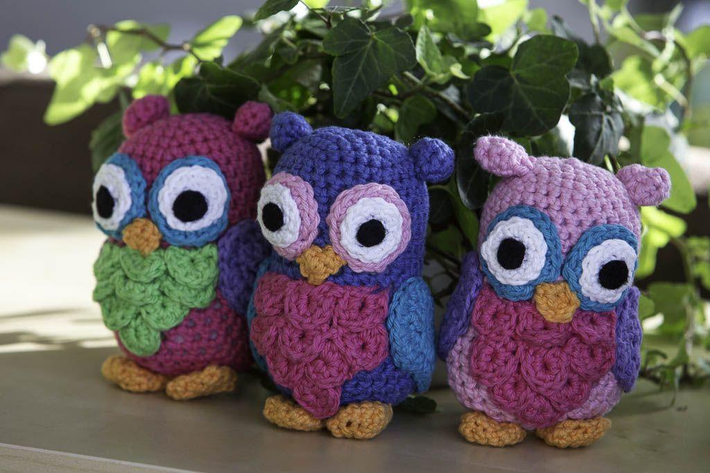 Crochet project   by Løgtholt   Pinterest   Eule und Garn