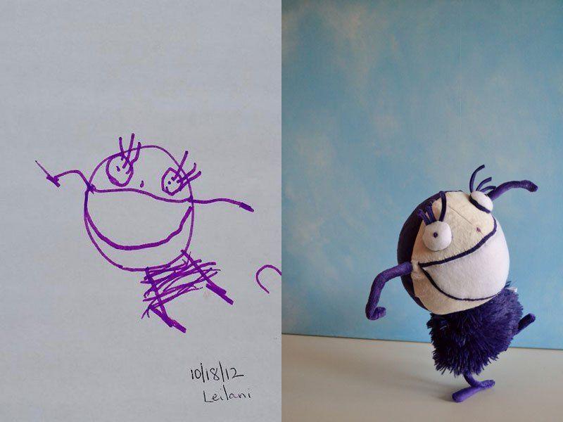 Potryasayushaya Biznes Ideya Myagkie Igrushki Po Detskim Risunkam Novye Biznes Idei Novye Idei Biznesa Idei Biz Drawing For Kids Childrens Drawings Kids Artwork