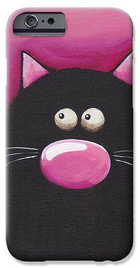 Pretty in Pink iPhone 6 Case by Lucia Stewart
