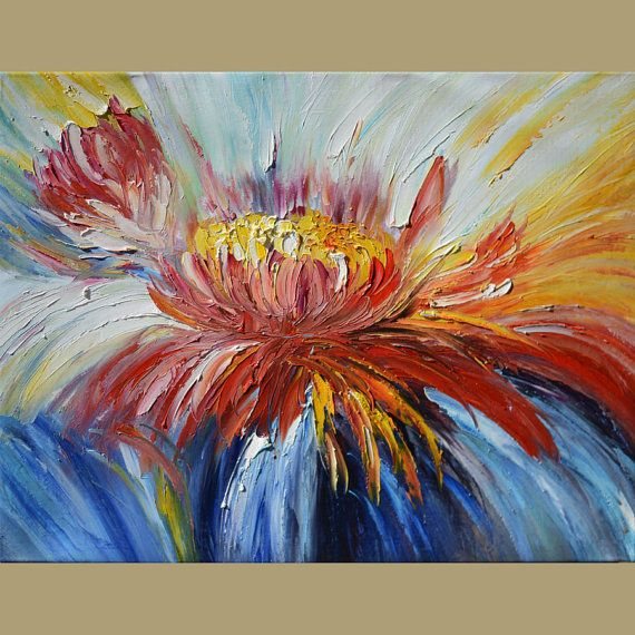 ORIGINAL Oil Painting A Kind of Magic 23 x 30 by ArtPaintingsMP
