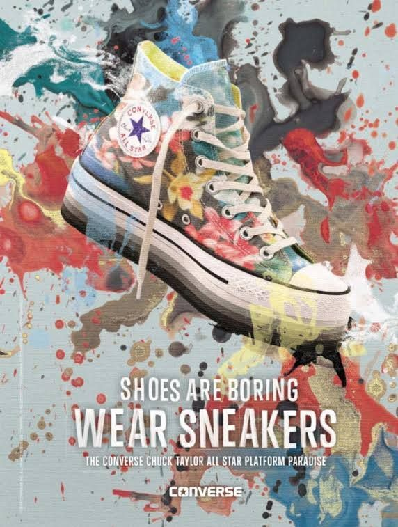 Shoes Are Boring Wear Sneakers Converse Gibot Roma Ss2014 Pubblicita