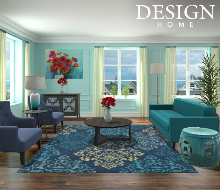 Traditional Contemporary Livingroom By Tiffani Valencia