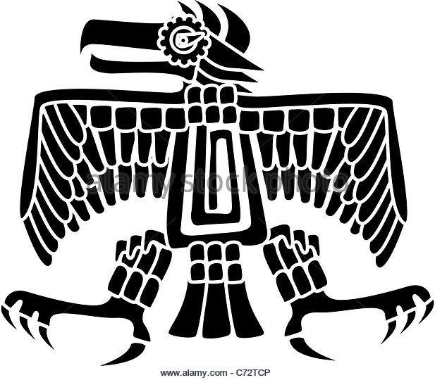 Mayan eagle tattoo meaning