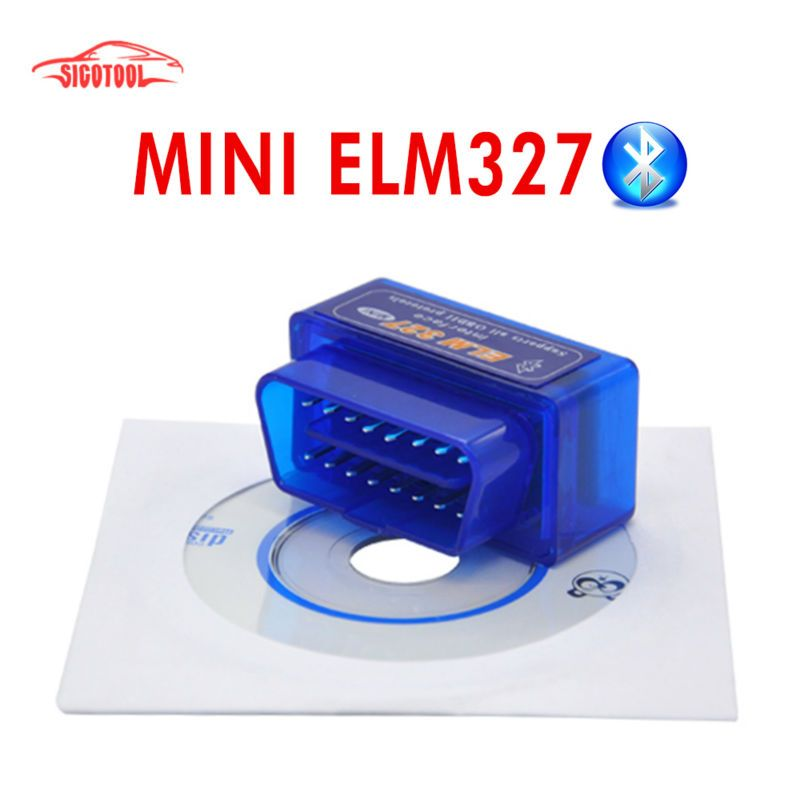 Super Mini OBD2 ELM327 V2.1 Bluetooth Voiture Scanner Outil de Scan auto Android