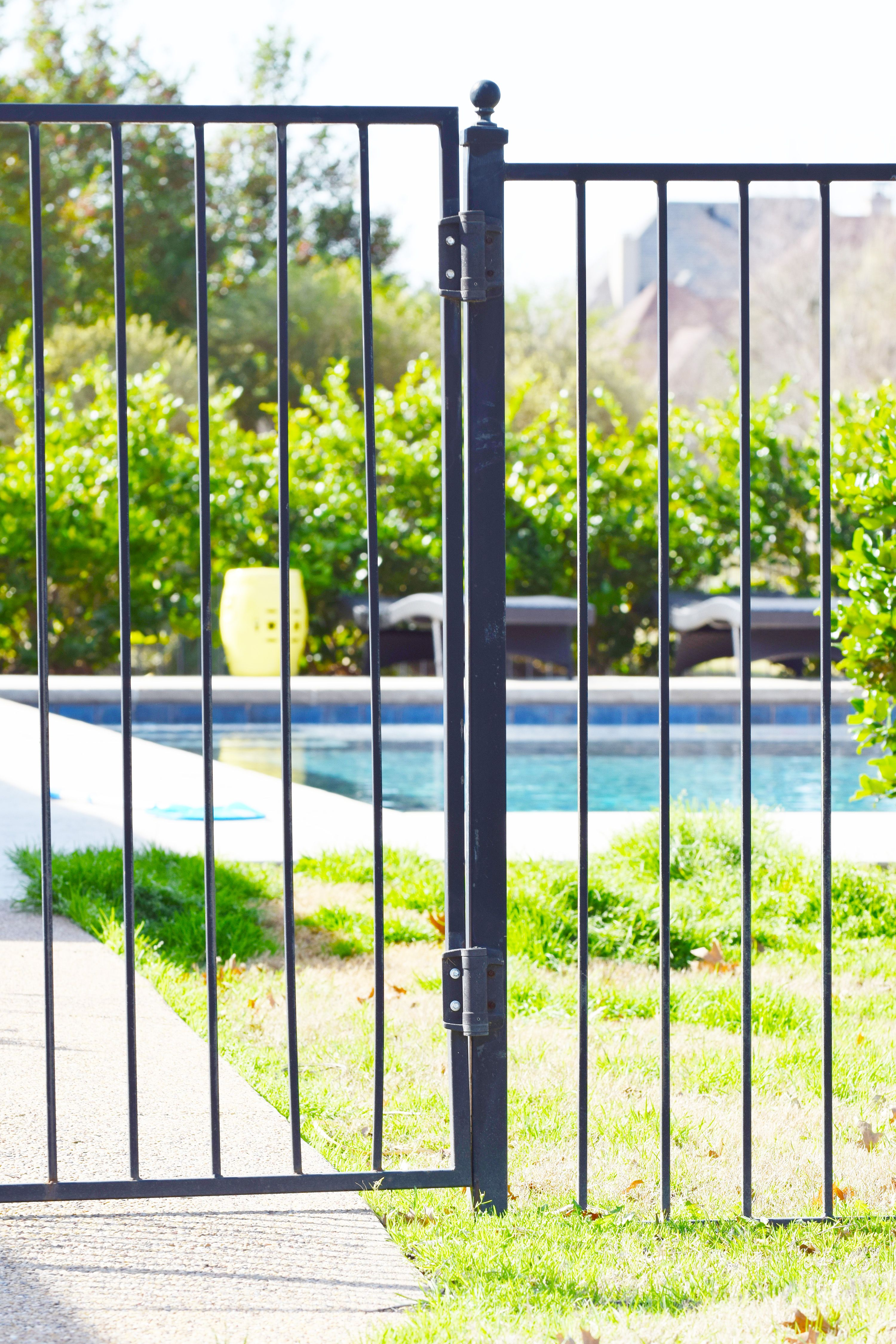 With The Weather Staying Hot Make Sure To Keep Your Pool Safe Installing Trustworthy Self Closing Hinges Will Give You Peace Of M Self Closing Hinges