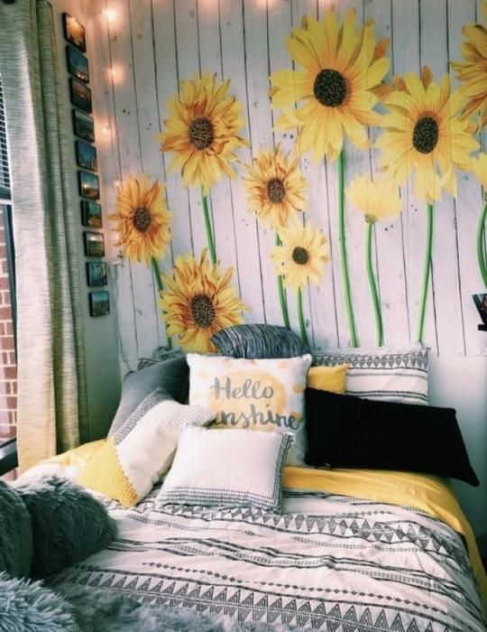 Sunflower Days Tapestry