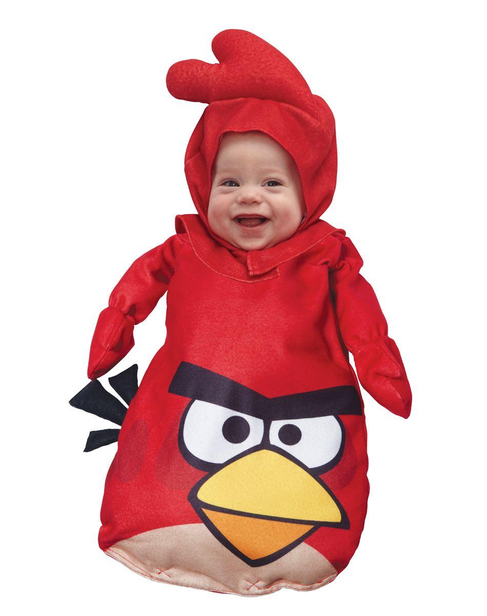 Shut up! Angry Birds - Red Bird Baby Costume :) Cute Baby ...