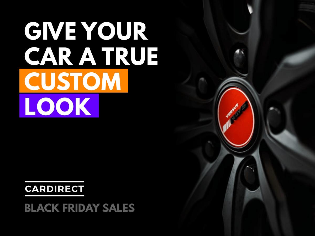 Custom Rims Black Friday Ad In 2020 Black Friday Social Media Template Black Friday Ads