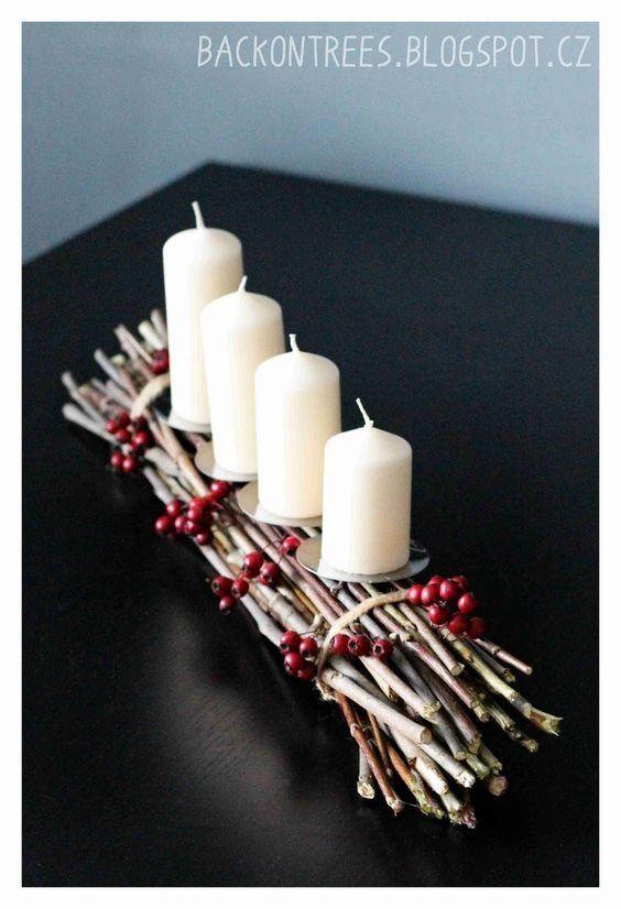 elkepeszto adventi koszoruk uj formaban #rustikaleweihnachten
