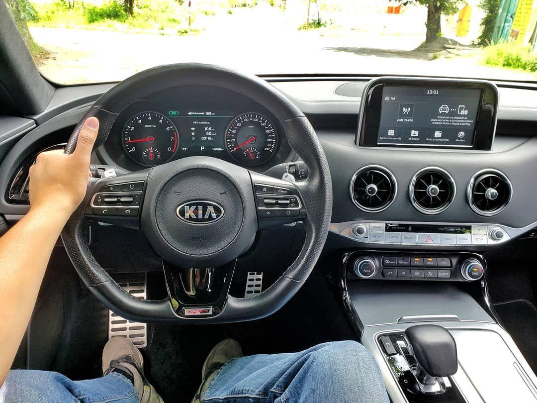 Nowdriving Kia Stinger Gt Line Motor 2 0 Turbo Con 250 Hp 260 Lb Pie Y Caja Automatica De 8 Velocidades Nowdriving Kia Stinger Gt Steering Wheel Vehicles