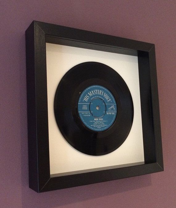 Danny Williams Moon River Framed Vinyl Record Vinyl Gifts Frame Vinyl