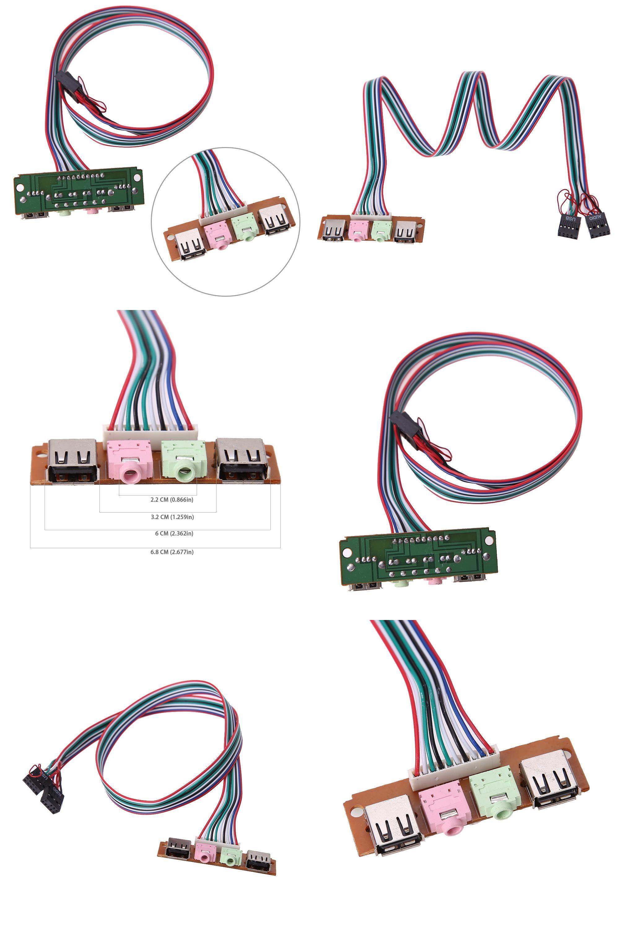visit to buy 2 ports usb 2 0 pc computer case front panel usb audio jacks port mic earphone cable fw1s advertisement [ 2002 x 3003 Pixel ]