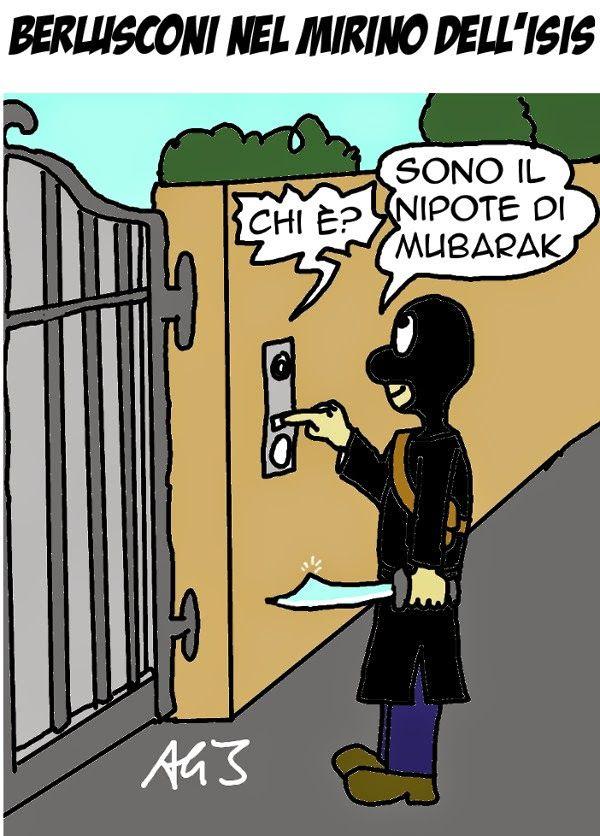 Berlusconi nel mirino dell'ISIS