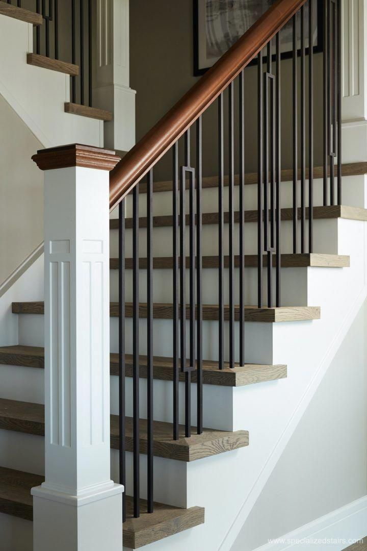 Have a look at this fantastic farmhouse staircase - what a ...