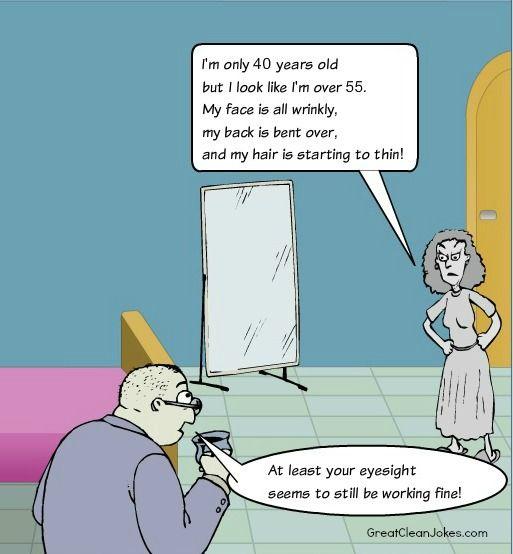 Getting Old Cartoon Old People Jokes Funny Old People Jokes