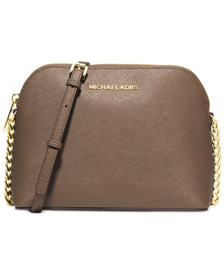121dfb8e420e MICHAEL Michael Kors Cindy Large Dome Crossbody - Michael Kors Handbags -  Handbags & Accessories - Macy's