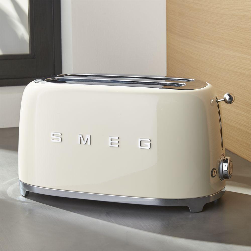 Best Sm*G Cream 4 Slice Toaster Retro Kitchen Appliances 400 x 300