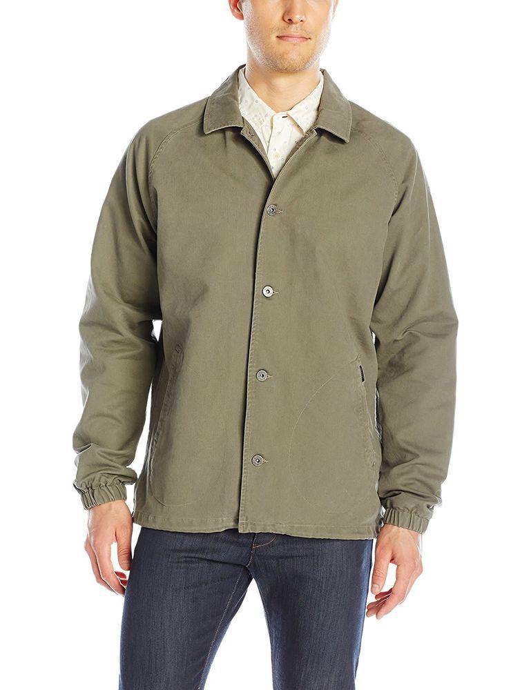 1b2f40770ef RVCA Mens Mvp Coach's Jacket - Green S #fashion #clothing #shoes  #accessories #mensclothing #coatsjackets (ebay link)