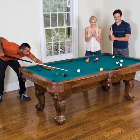 Classic Sports Brighton 87 Billiard Pool Table In Green Walmart Com Billiard Pool Table Pool Table Billiards Pool