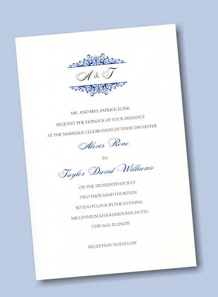 Create Your Own Wedding Invitation Suite 30