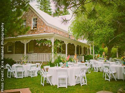 Twenty Mile House Graeagle Weddings Lake Tahoe Reception Venues Wedding Locations