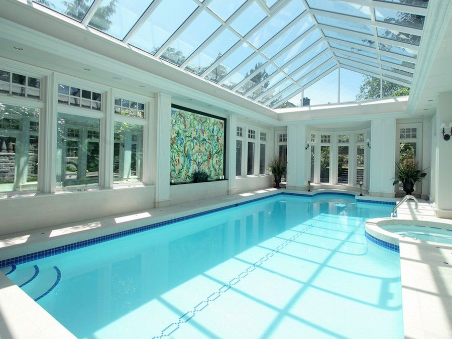 Pin On Awesome Indoor Outdoor Pools