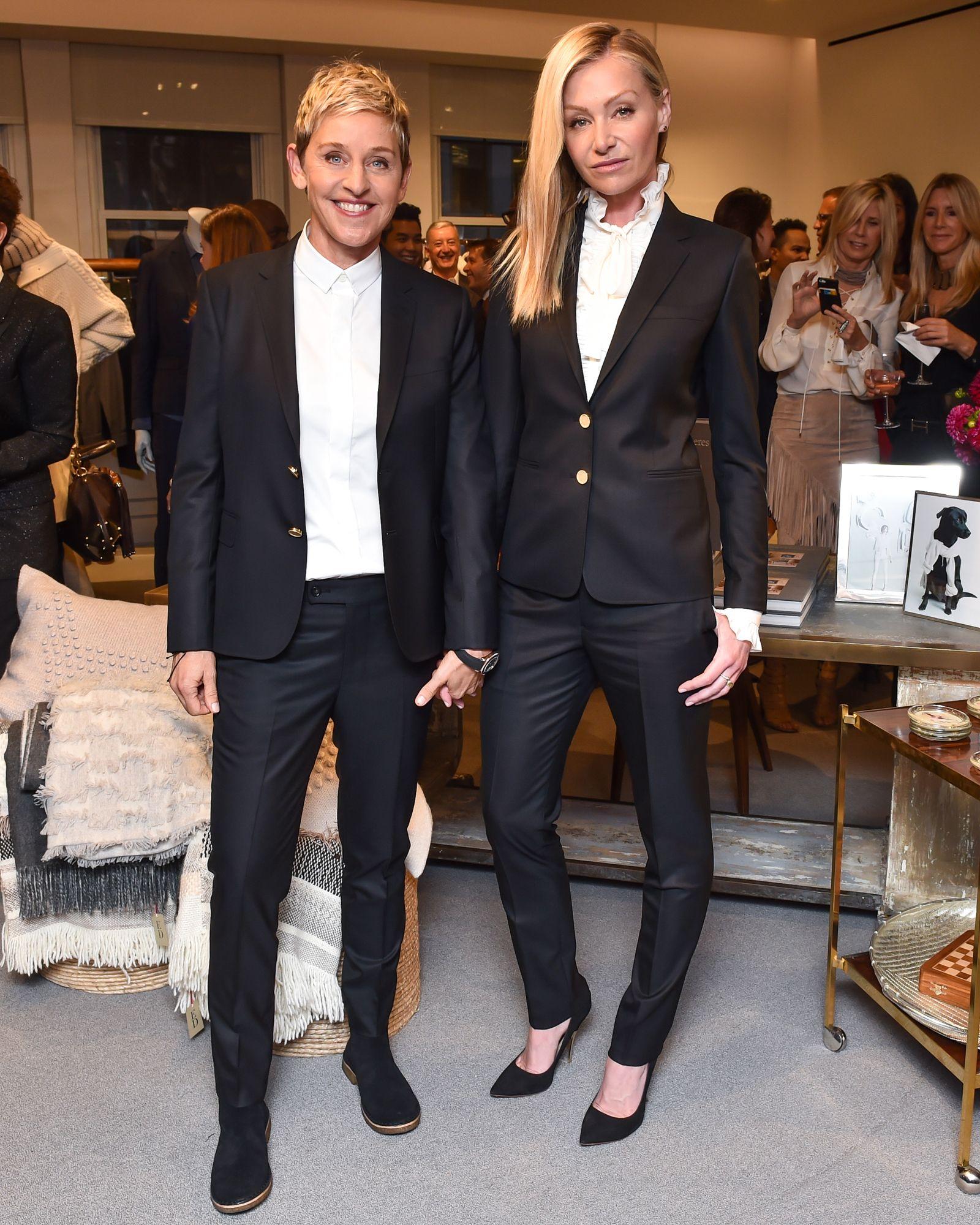A look at Ellen DeGeneres's celebration at Bergdorf Goodman to celebrate Fashion Week. Ellen DeGeneres