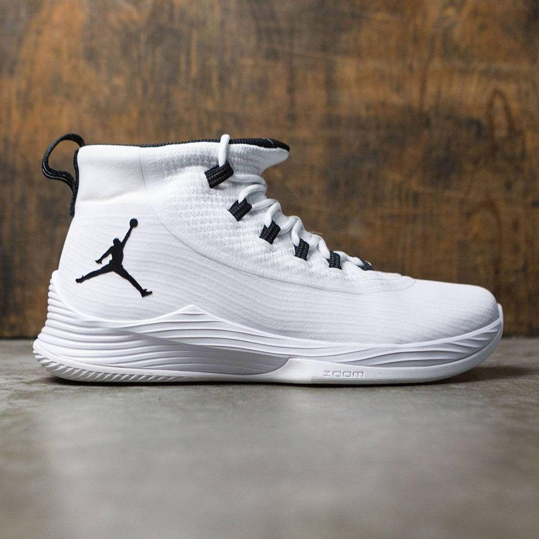 Jordan Men Ultra Fly 2 Basketball White Black White Girls Basketball Shoes Basketball Shoes For Men Womens Basketball Shoes