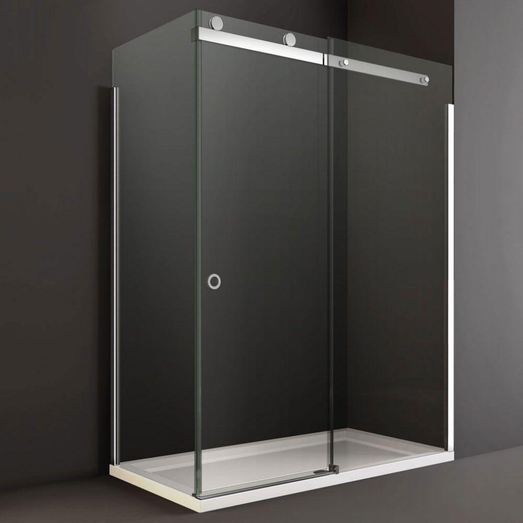 Barn Style Frameless Sliding Glass Shower Door Hardware Http