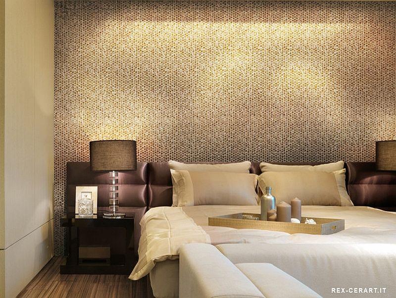 Tile Accent Wall Bedroom - Bedroom design ideas