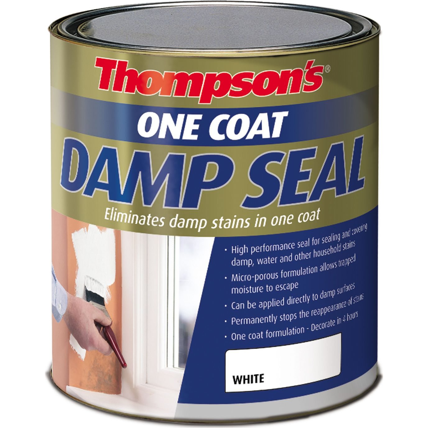 Ronseal One Coat Damp Seal 750ml: A high performance seal for ...