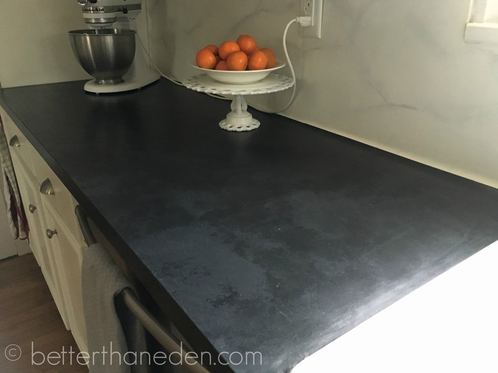 A Faux Soapstone Painted Countertop Kitchen Remodel Countertops Replacing Kitchen Countertops Painted Countertops Diy