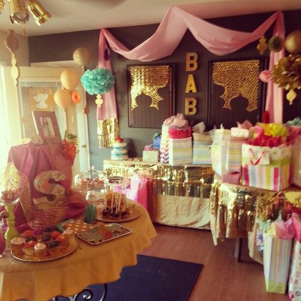 Bollywood Baby Shower  Everything Party  Baby Shower Themes, Indian -5561