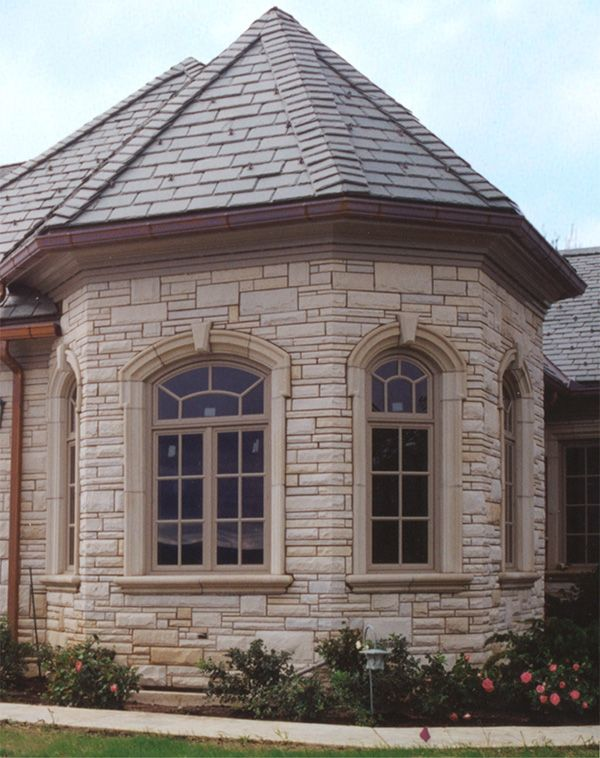 Architectural Window Sills : Eyebrow window surrounds with sills ears and keystones