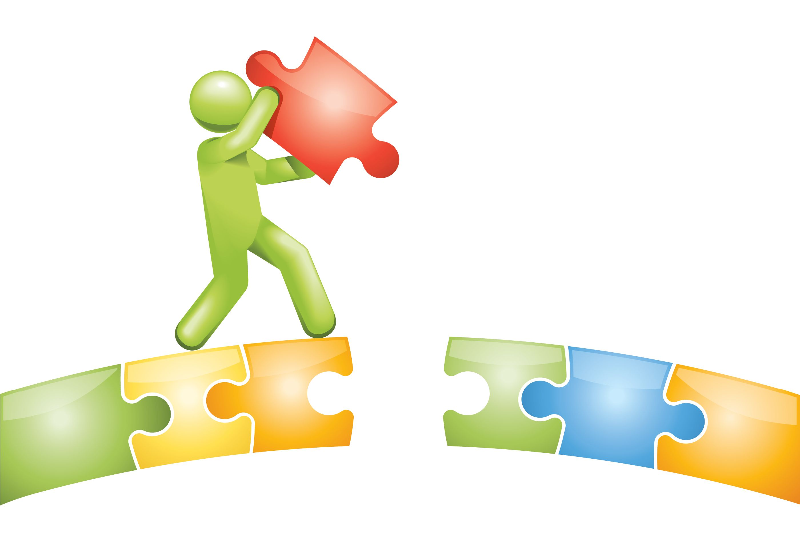 Bridging Gaps Clip Art enabling small business owners at