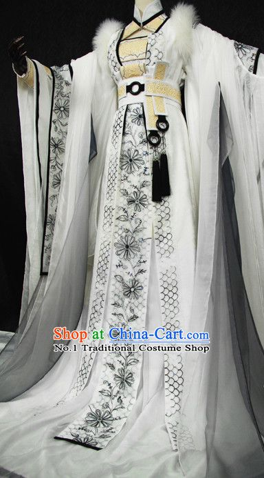 Beautiful Chinese Women White Fairy Costumes | vestidos | Pinterest ...