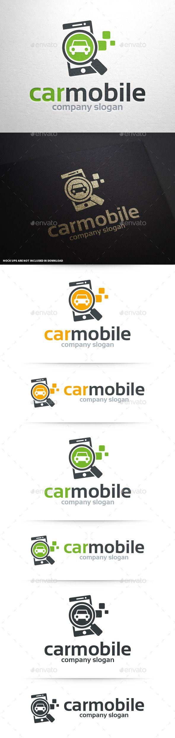 Car Mobile Logo Template Logo Templates Template And Logos