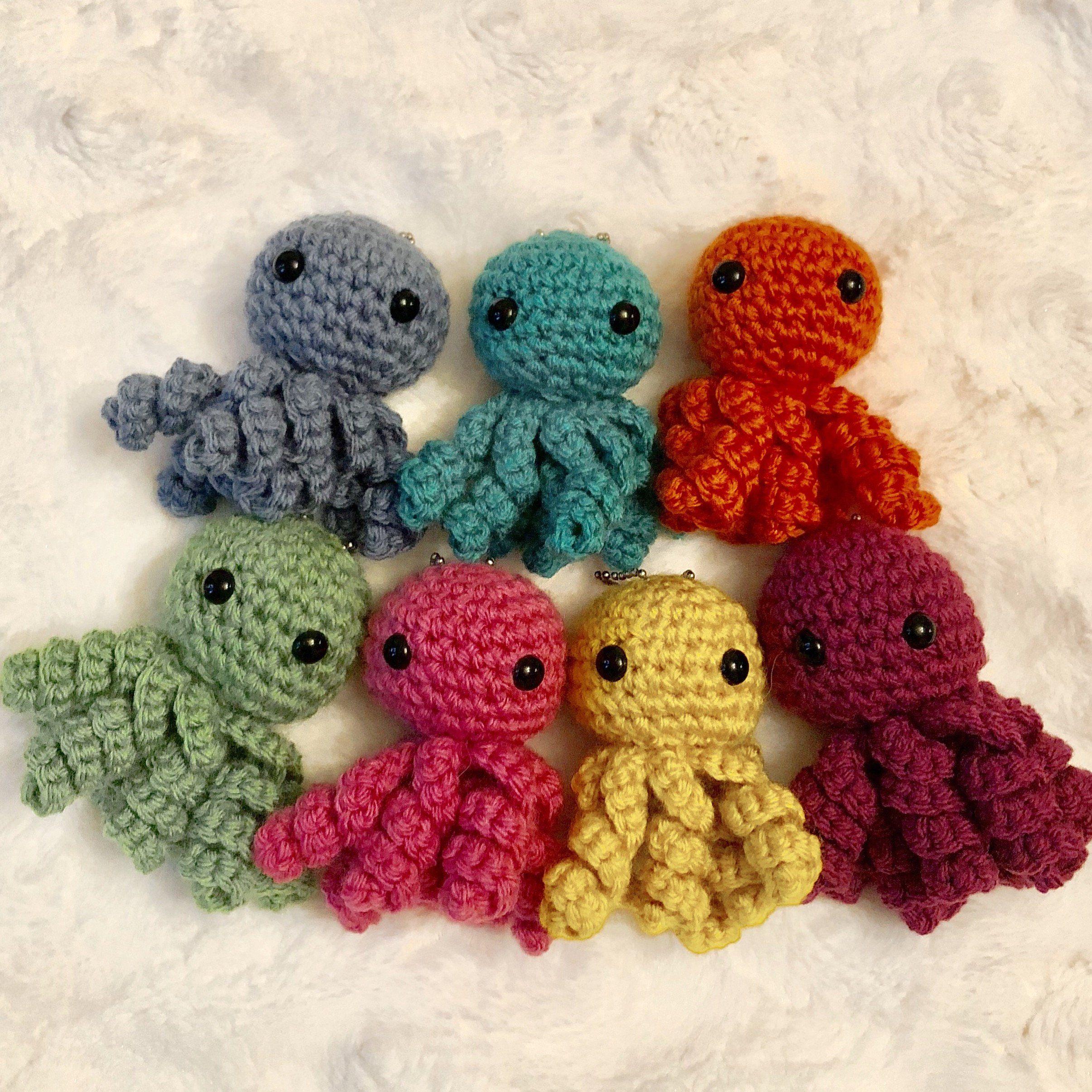 Amigurumi Octopus Crochet Pattern Printable PDF | Amigurumi ... | 2411x2411