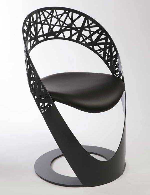 unusual chairs | Black Unique Chairs Design Ideas Arch ...