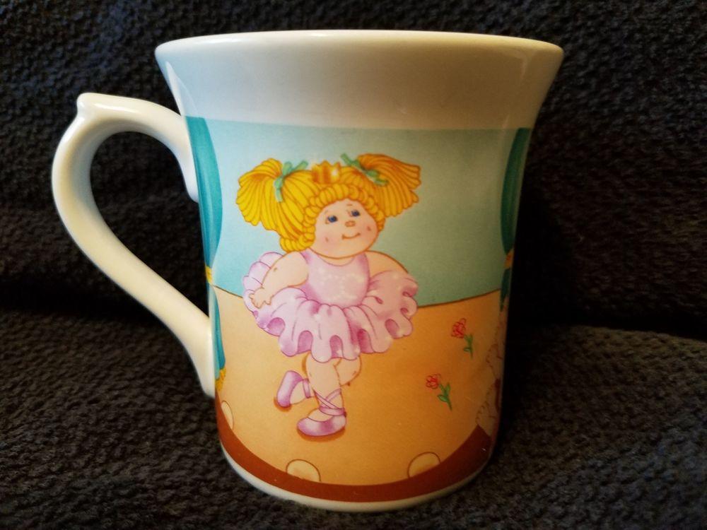 Vintage 1984 Cabbage Patch Kids Coffee Mug Collectible 1980 S Kids O O A Editio Mugs 1980s Kids Coffee Mugs