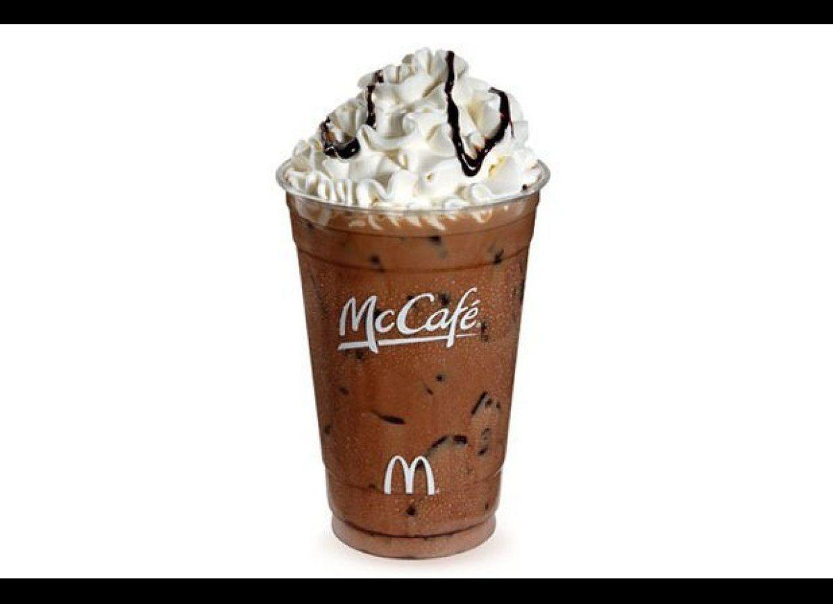 McDonald's: McCafé Iced Caramel Mocha | Iced mocha